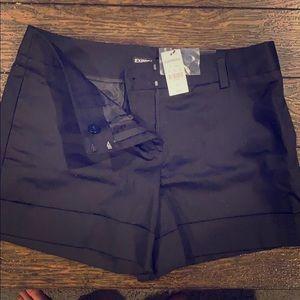 Brand new Express size 4 black shorts